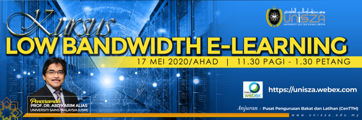KURSUS LOW BANDWIDTH E LEARNING