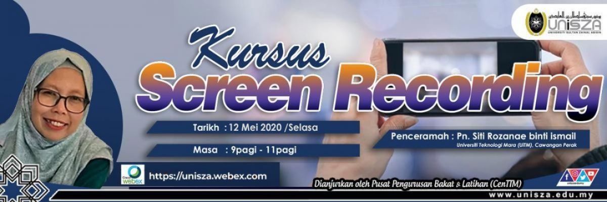 KURSUS SCREEN RECORDING