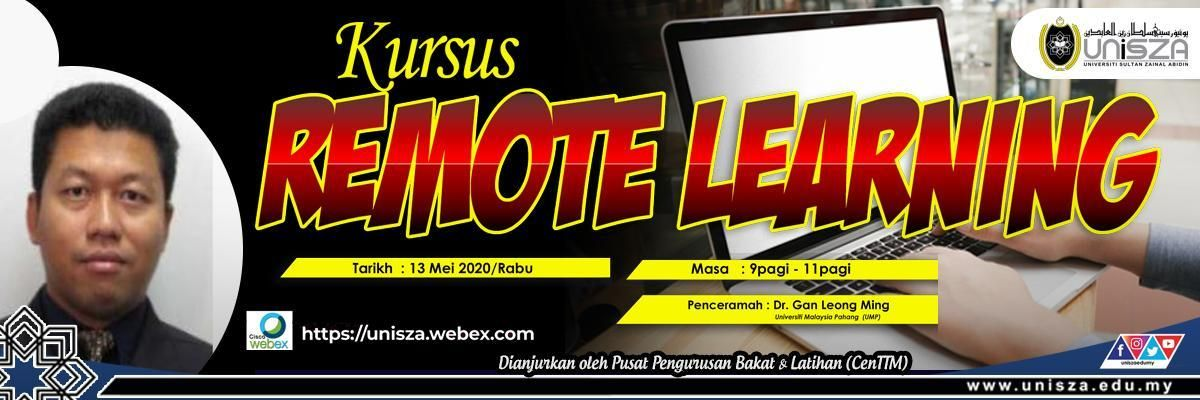 KURSUS REMOTE LEARNING